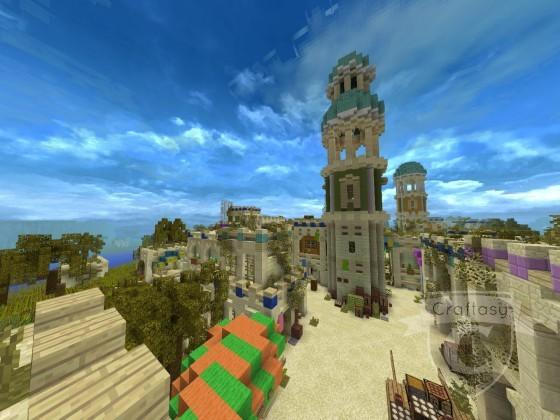 Neuer Turm in Pselkis