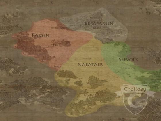 Karte von Quadesh (Bauphase)