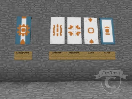 Calderas endgültige Flagge/en