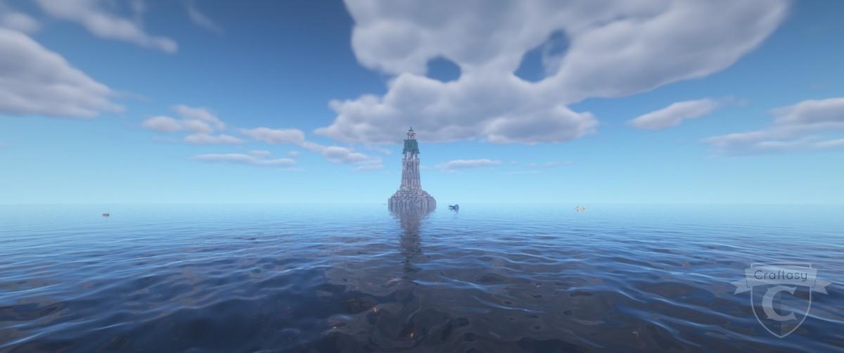 Leuchtturm von Atlantis