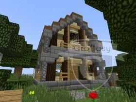 Front des Hauses