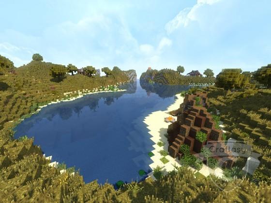 Whitecap Bay Bucht